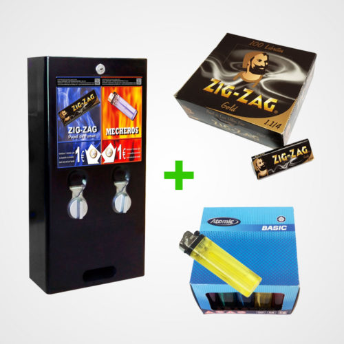 maquina-expendedora-vending-cargada-de-mecheros-y-papel-de-fumar